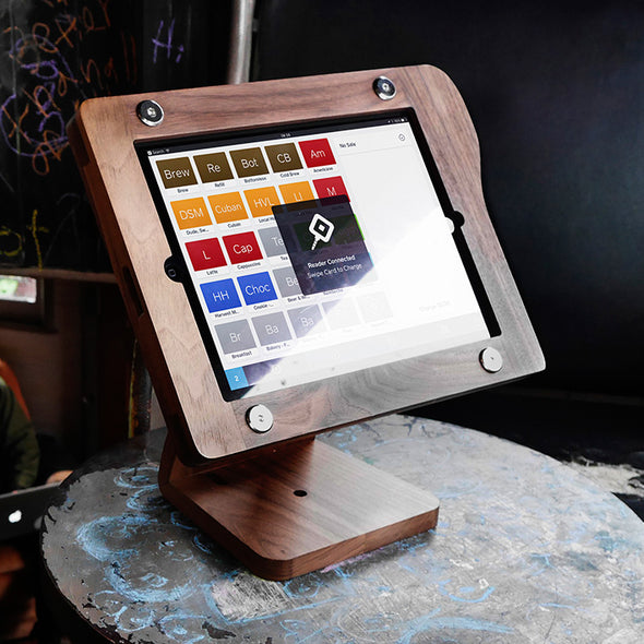 Square POS wood