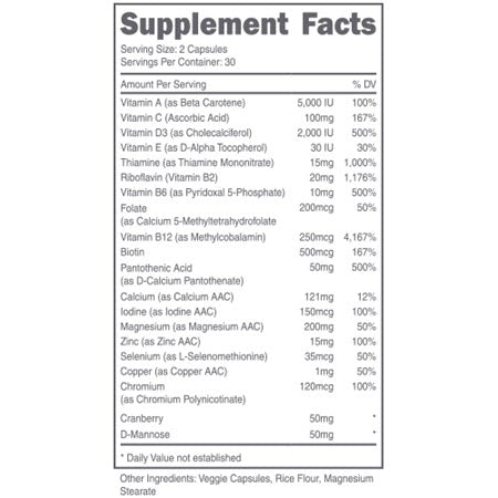 Image of DAS Labs - Doe, Women's Multivitamin - 732Supplements.com