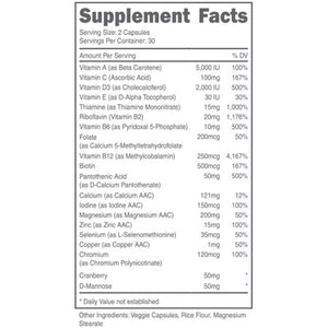 DAS Labs - Doe, Women's Multivitamin - 732Supplements.com