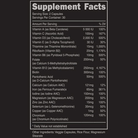 Image of DAS Labs - Stag (Men's Multivitamin) - 732Supplements.com