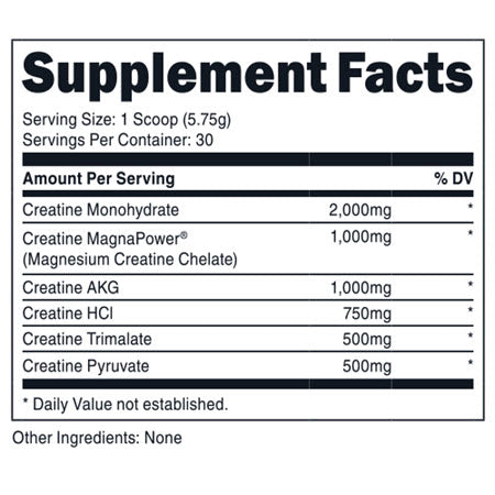 DAS Labs - 6 Point Creatine - 732Supplements.com