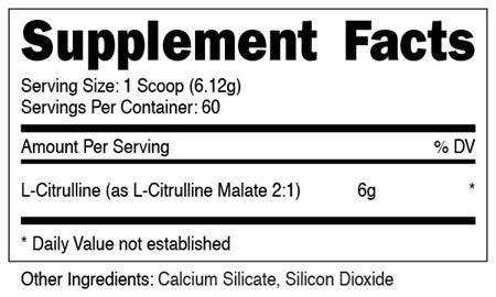 DAS Labs - L-Citrulline Malate 2:1 (300 Grams) - 732Supplements.com
