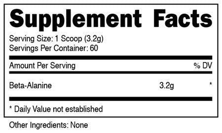 Image of DAS Labs - Beta-Alanine - 732Supplements.com