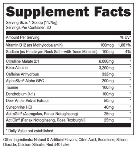 Image of DAS Labs - Woke AF - 732Supplements.com