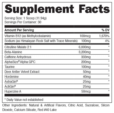 Image of DAS Labs - BAMF, Formerly LIT AF - 732Supplements.com