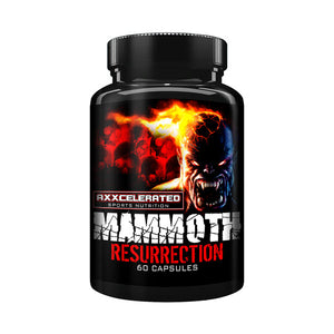 Axxcelerated Sports Nutrition - Mammoth Resurrection - 732Supplements.com