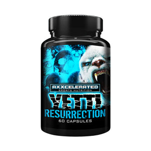 Axxcelerated Sports Nutrition - Yetti Resurrection - 732Supplements.com