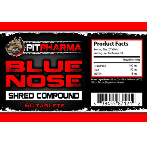 Image of Pit Pharma - Blue Nose - 732Supplements.com