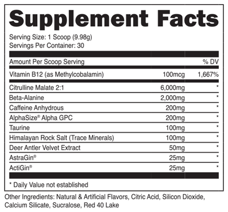 Image of DAS Labs - Bucked Up - 732Supplements.com