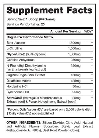 I-Prevail - RoguePW Pre-Workout 2.0 - 732Supplements.com
