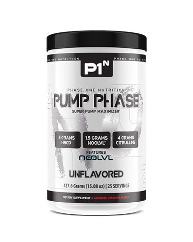 Phase One Nutrition – Pump Phase - 732Supplements.com