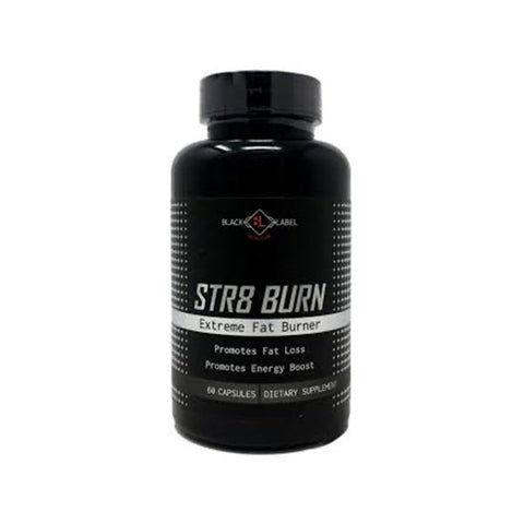 Black Label Nutrition - Str8 Burn - 732Supplements.com