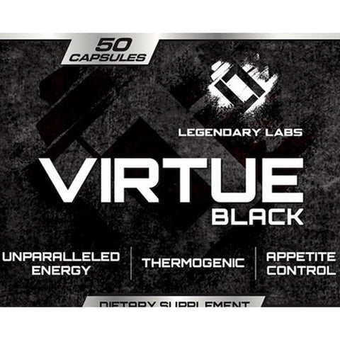Image of Legendary Labs - Virtue Black - 732Supplements.com