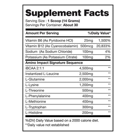 Image of I-Prevail - Amino Impact EAA - 732Supplements.com