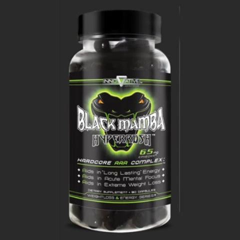 Innovative Labs - Black Mamba Hyperrush - 732Supplements.com