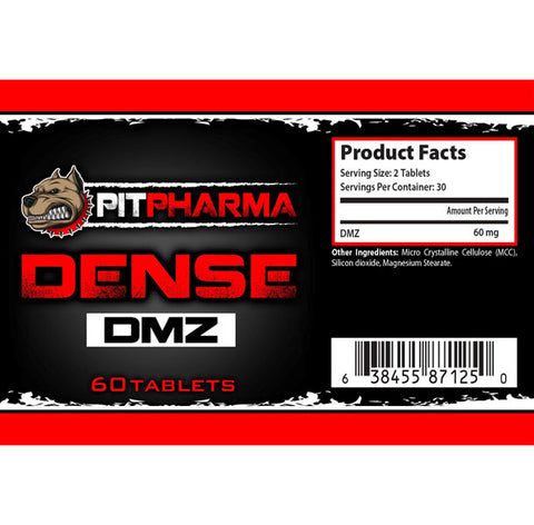 Pit Pharma - Dense DMZ - 732Supplements.com