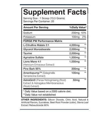 Image of I-Prevail - Forge PW - 732Supplements.com