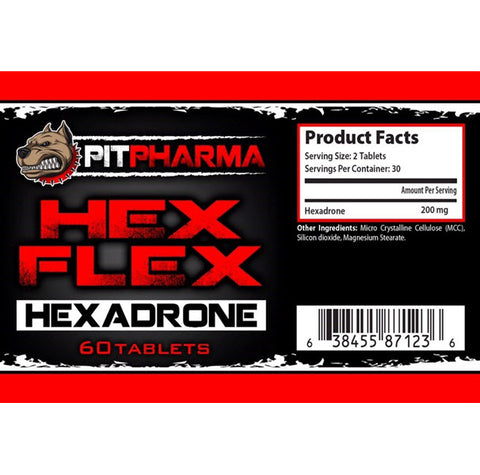 Pit Pharma - Hex Flex - 732Supplements.com