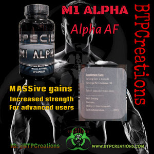 BTP Creations - M1 Alpha - 732Supplements.com
