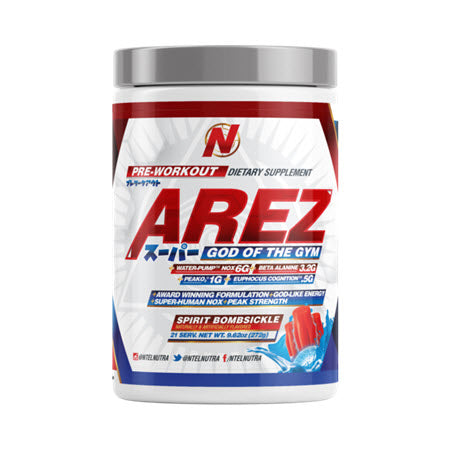 Image of NTel Nutra - SUPER AREZ: God of the Gym - 732Supplements.com
