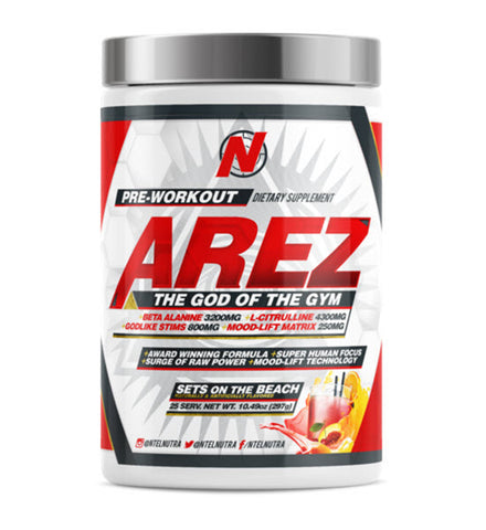 NTel Nutra - MEGA AREZ: God of the Gym - 732Supplements.com