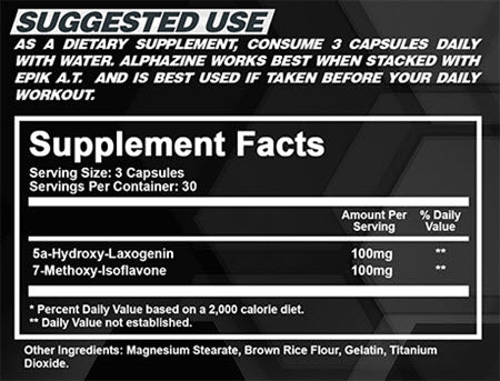 Image of NTel Nutra - Alphazine V2 - 732Supplements.com