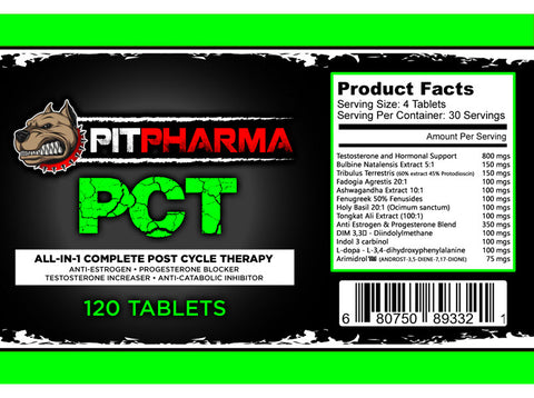 Image of Pit Pharma - All In One PCT Formula - 732Supplements.com