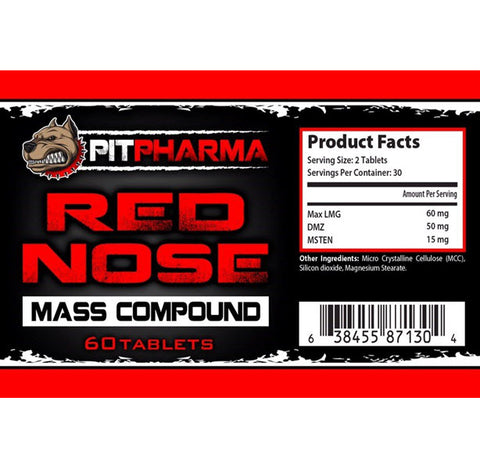 Image of Pit Pharma - Red Nose - 732Supplements.com
