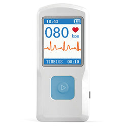New Portable ECG Monitor Handheld Heart Rate Monitor-  Prevent cardiovascular diseases
