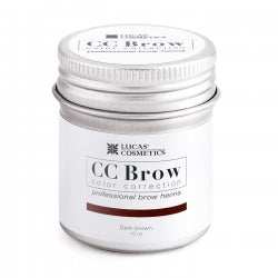 CC BROW HENNA PIGMENTS BOX - DARK BROWN