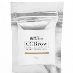 CC BROW HENNA - LIGHT BROWN