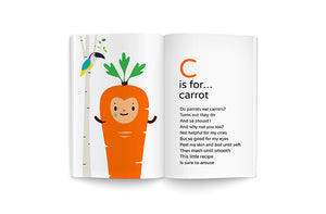 C is for Carrot recipe poem