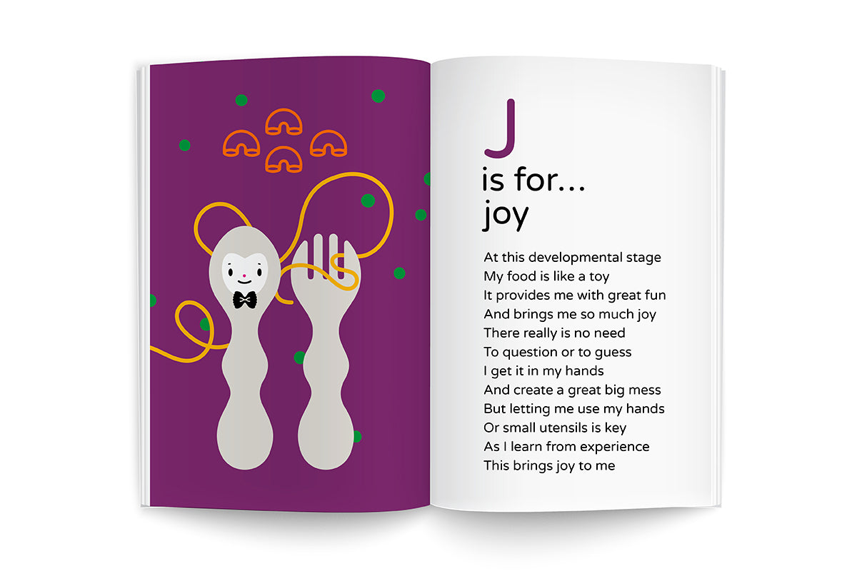 Recipes for Growing Me J is for Joy alphabet illustration