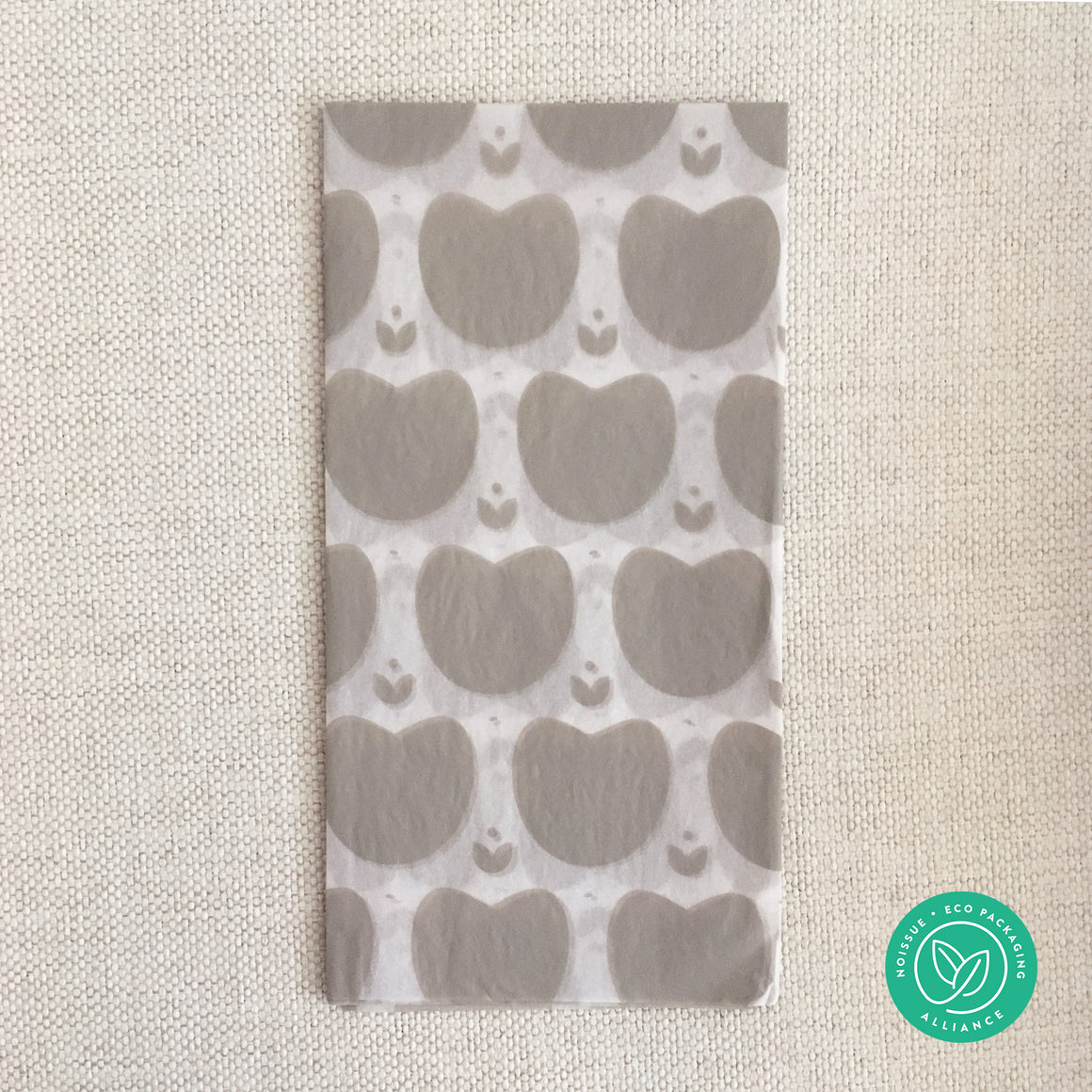 pretty solid heart shape patterned tissue paper