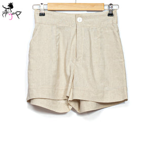 Organic Cotton Buttoned Shorts
