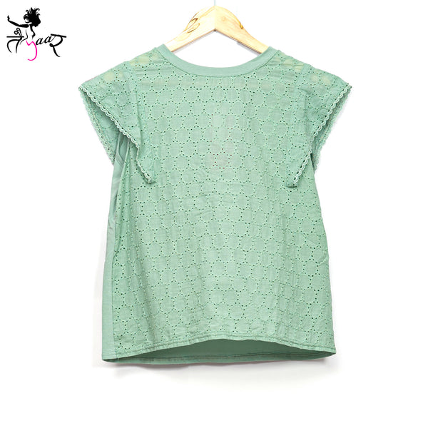 Cotton Cap Sleeves Top