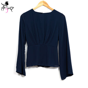 Long Bell Sleeves Top
