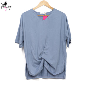 Half Sleeves Super Soft Solid Tops