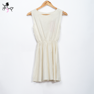 Sleeveless Cotton Dress