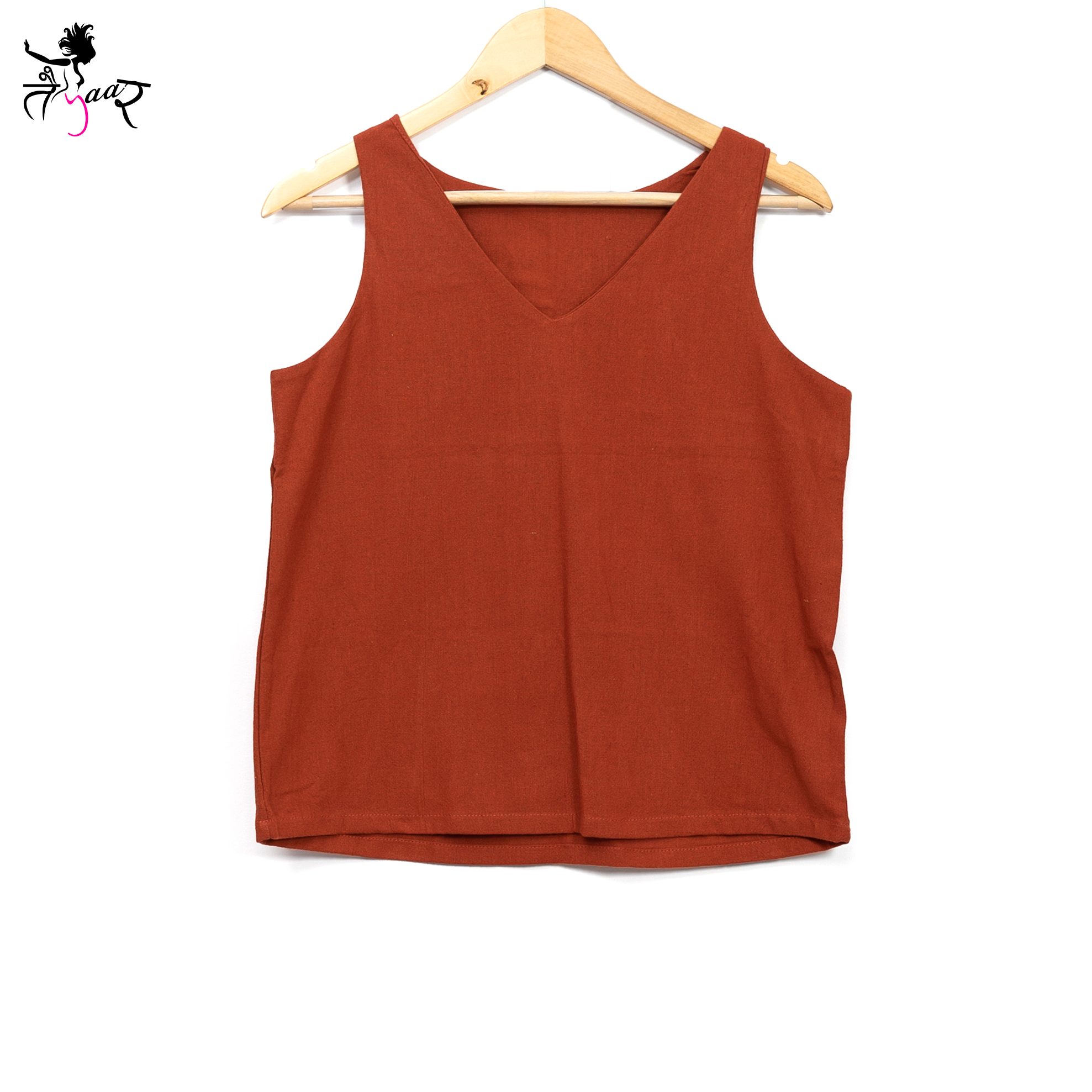 Sleeveless Organic Cotton Tops