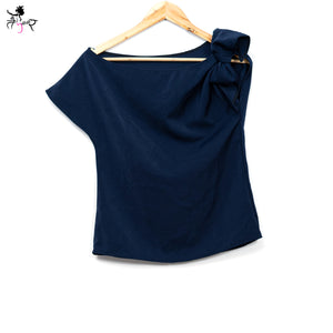 One Side knot Party Wear Top