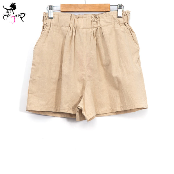 Cotton Shorts with Pockets