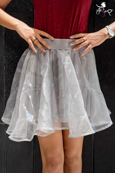 Party Wear Short Tulle Skirt