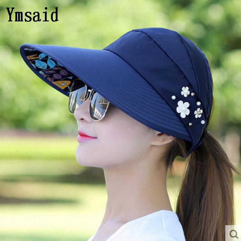 89cb10a1f63 Summer Hats Women Foldable UV Protection CAC