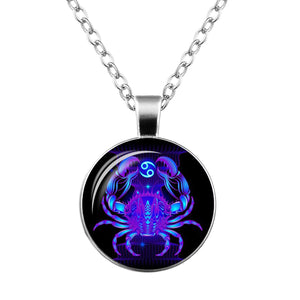 Zodiac Sign Pendant Necklace