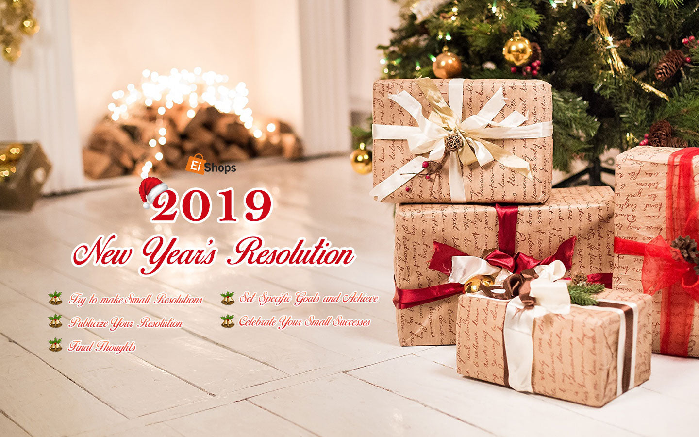 New Year 2019 and 2019 New Year's Resolution