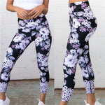 Floral Fitness Yoga Pants