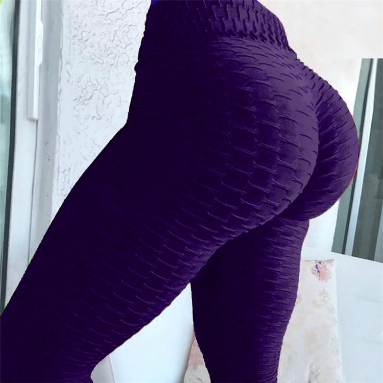 Mesh Design Fitness Yoga Pants