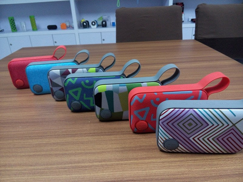 G1 Portable Fabric bluetooth speaker