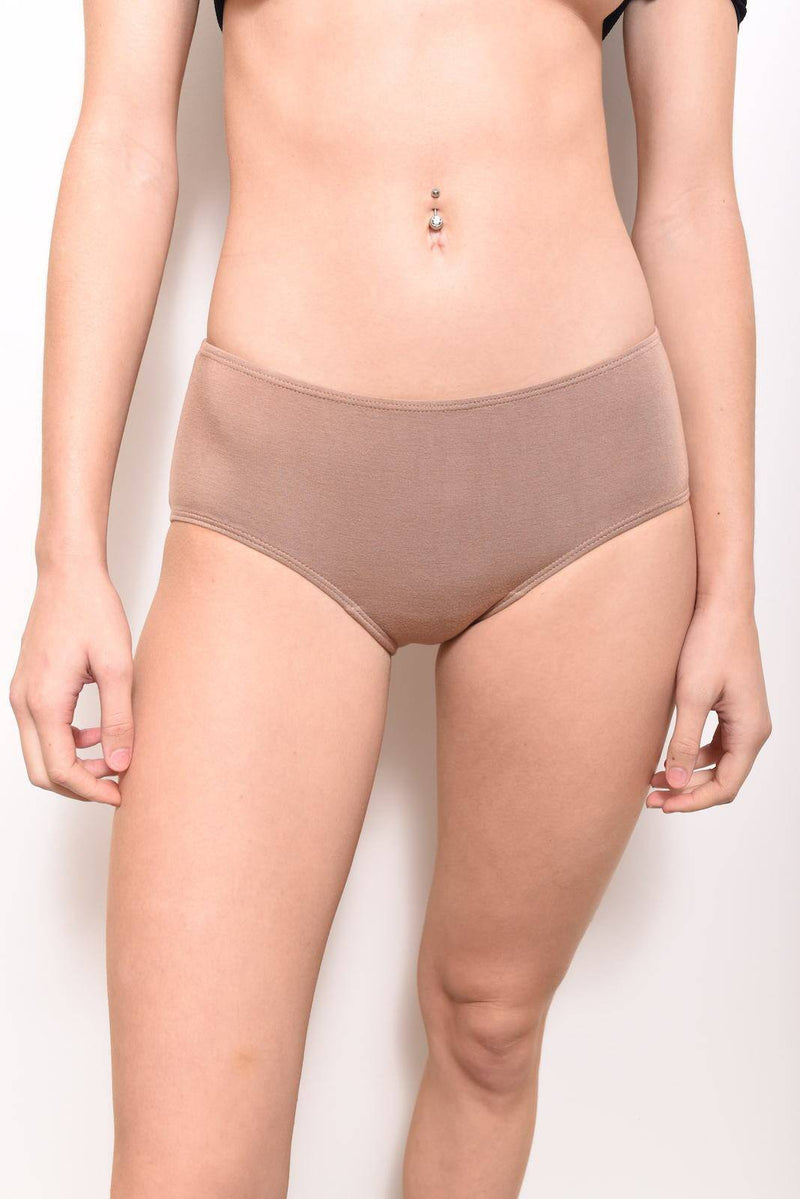 Eco-Modal Briefs Underwear: Honey - SHON SIMON